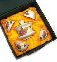 Сервиз керамический с рисунком (17х18х9,5 см) (Заварник - 100мл., чашка - 20мл.)