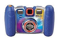 VTech Детский фотоаппарат с поворачивающейся камерой синий Kidizoom Spin and Smile Camera Blue