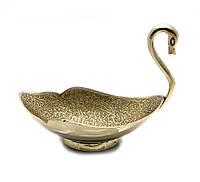 "Менажница ""Лебедь"" бронза (17х14,5х10,3 см)"