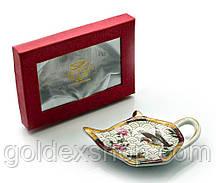 """Подставка под чайные пакетики (11,5см.) (TBP1013) """"Утки"""""""
