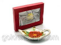 """Подставка под чайные пакетики (11,5см.) (TBP1115-1) """"Цветок"""""""