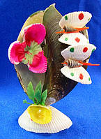 Игрушка из ракушек сувенир (11х6х5 см)