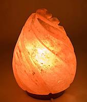 """Соляная лампа (S-013) """"Капля"""" (h-23 cm d-13 cm)  (Гималайская соль)"""