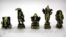 Статуэтки  индийских Богов, бронза (3 см)