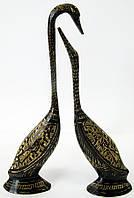 Лебеди пара бронзовые (18,5х5х3 см)