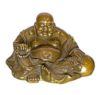 Хотей сидящий бронза (25 см)