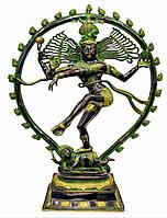 Шива танцующий бронзовый 25кг.