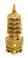 """Пагода """"Бронза"""" каменная крошка (12х4,5х5,5 см)"""