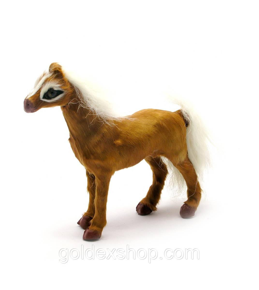 Лошадь мех (12,5х11х3 см)