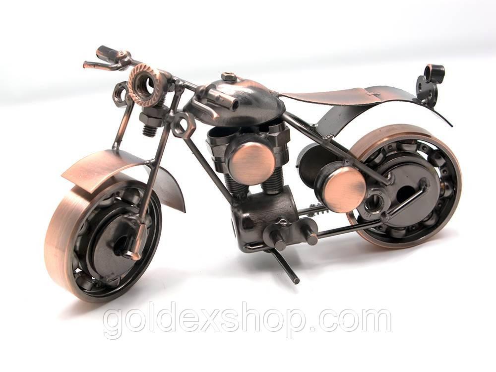 "Статуэтка мотоцикл Техно-арт ""Байк"" (длинна 19 см)"