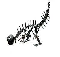"""Техно-арт """"Динозавр"""" металл (26х16х8 см)"""