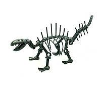 """Техно-арт """"Динозавр"""" металл (27х12х8,5 см)"""