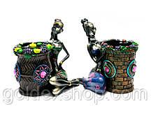 Статуэтка Африканка подставка под ручки