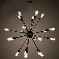 Подвесной светильник LOFT [ Hedgehog ] (18 Lamp Edisons)