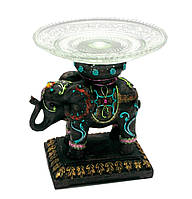 Слон с блюдом (16,5х15х15 см)