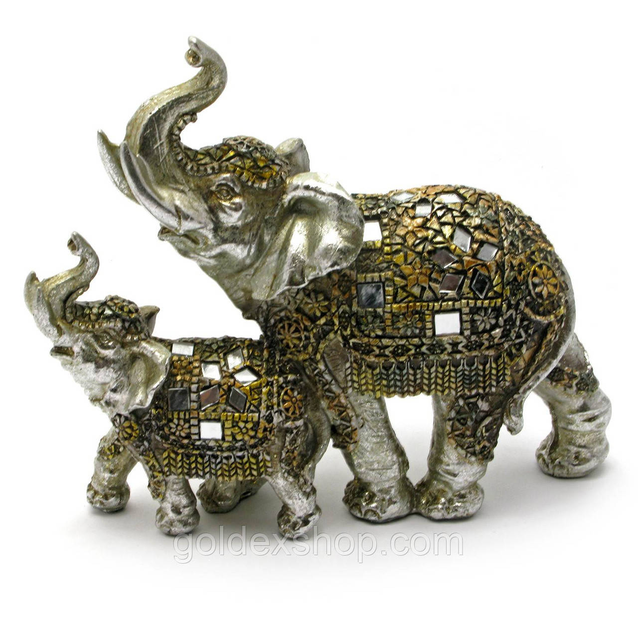 Слоны пара (19х17,5х6 см)