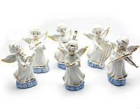 Статуэтка Ангелочки набор 6 шт (h-11,5 см)
