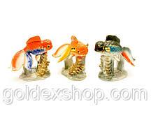 Золотая рыбка фарфор (9,5х9,5х6 см)