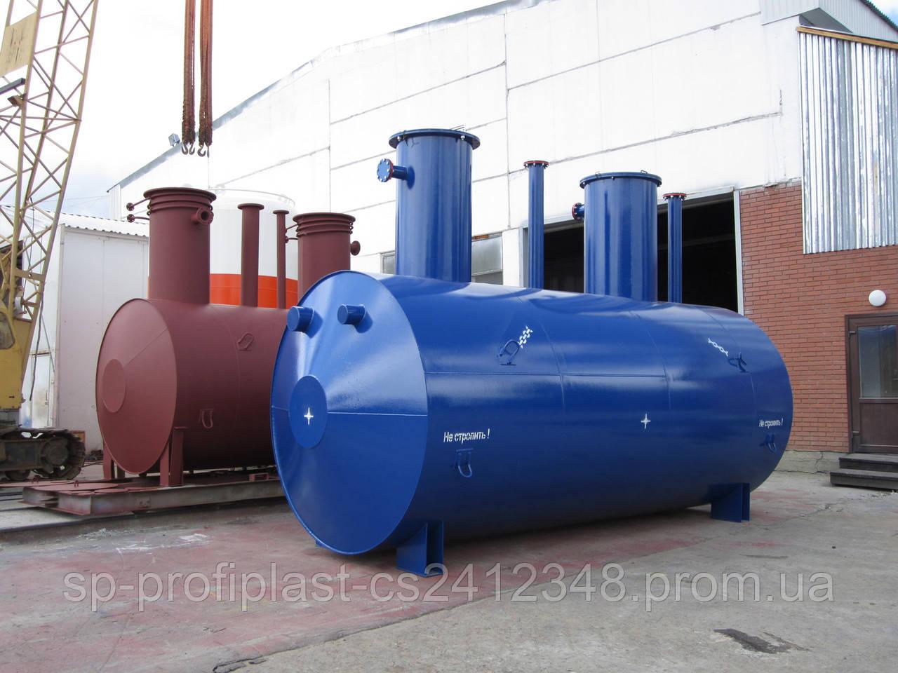 Пожарная емкость для воды - ООО «СП «ПРОФИПЛАСТ» в Сумах