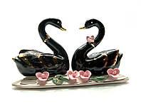 Лебеди пара фарфор (13,5х7х4,5 см)