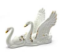 Лебеди фарфор (12,5х9х5 см)