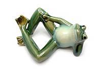 Лягушка керамическая (18х12х6,5 см) (21004)