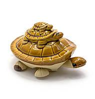 Черепашка керамическая (шевелит лапками) (11х7х5,5 см)