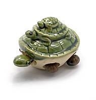 Черепашка керамическая (шевелит лапками) (8х6х5,5 см)