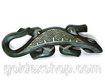 Гекон деревянный резной (17х2х50 см)