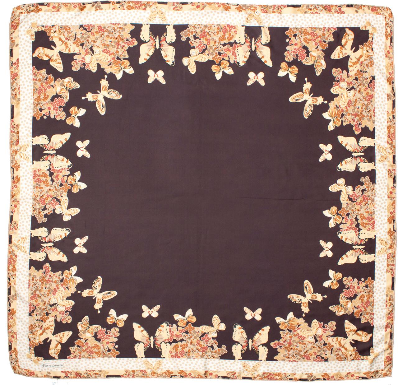 Атласный платок Pierre Lauren
