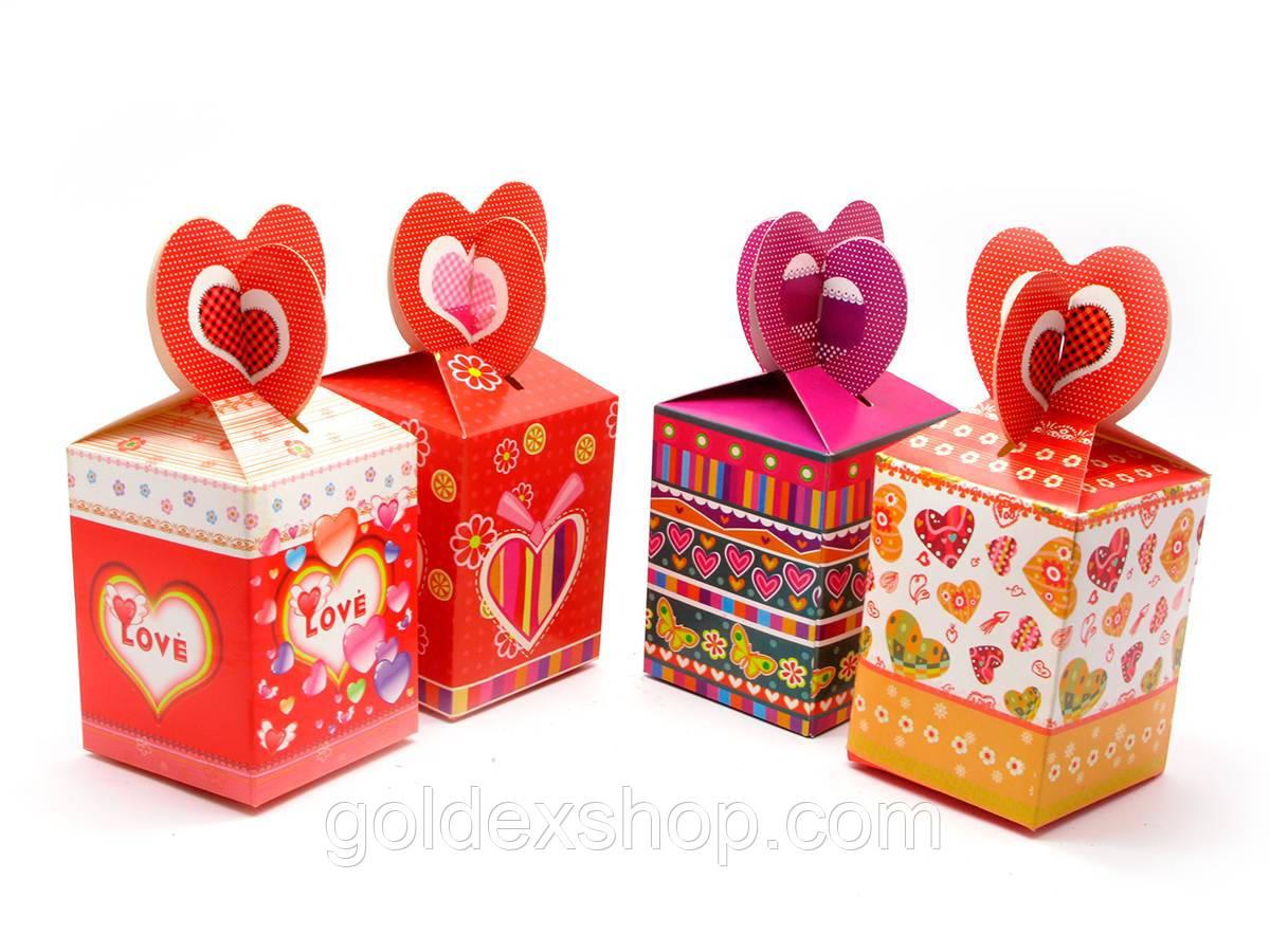 Коробка упаковочная (14х7х7 см)