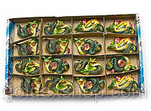 Змея магнит на холодильник (5х4 см)