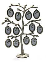 """Фоторамка """"Родовое дерево"""" (12 фото) (27,5х20,5х7 см)"""