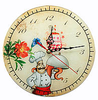 "Часы настенные ""Повар"" (d-25 см) (тихий ход)"