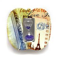"""Годинник пісочний """"Париж"""" (13х13,5х4 см)"""