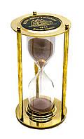 Часы песочные бронза (16,5х9х9 см)