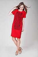 Пошита сукня заготовка для вишивки бісером, нитками з узором