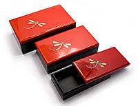 Шкатулки набор 3 шт (10х10х4 см 13х13х5 см 16х16х6 см) (Вьетнам)