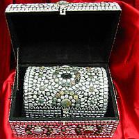 Сундуки с камнями набор (3шт) (33х23х23 см 27х17х17 см 18х12х12 см)