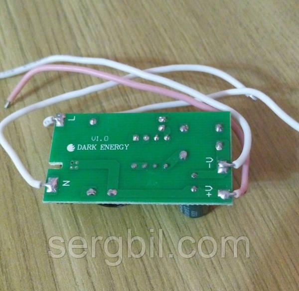 LED driver 18-36х1W 280-300mA, питание 190-265V AC, без гальв.разд., без корпуса