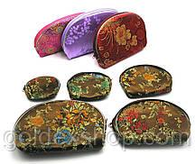 Косметички из ткани набор 5 шт (20х14х3 см)