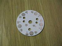 Подложка 5х1Вт светодиодов белая, алюм. диск  47x1,1мм