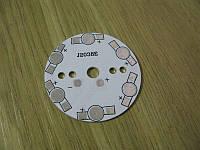 Подложка 6х1Вт светодиодов белая, алюм. диск 49x1,4мм