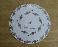 Подложка 24х1Вт светодиодов алюм. диск 118x1,4мм