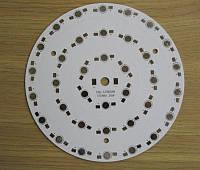 Подложка 36х1Вт светодиодов алюм. диск 150x1,4мм