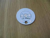 Подложка-радиатор 1х1Вт светодиода алюм. диск  35мм, фото 1