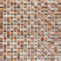 Мозаика мрамор стекло Vivacer DAF18
