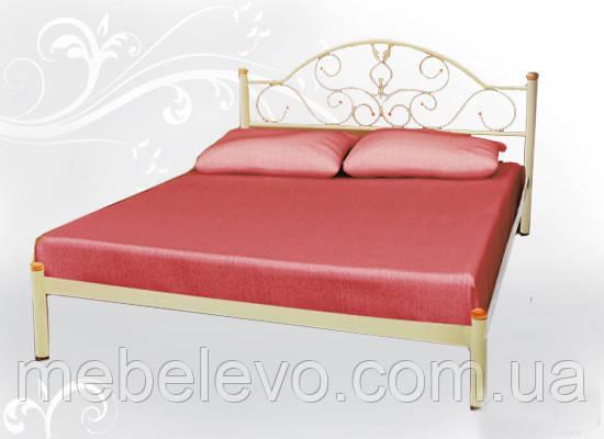 Кровать двуспальная Анжелика 180 Металл-дизайн