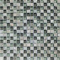 Мозаика мрамор стекло Vivacer DAF19