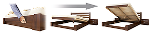 Кровать Селена Аури Бук Щит 102 (Эстелла-ТМ), фото 2